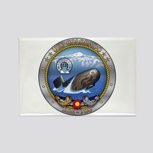 USS Colorado SSN-788 Rectangle Magnet