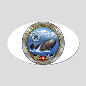 USS Colorado SSN-788 20x12 Oval Wall Decal