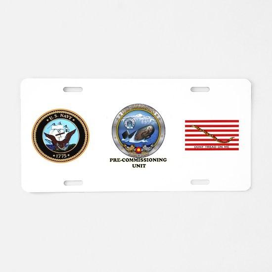 PCU Colorado SSN-788 Aluminum License Plate
