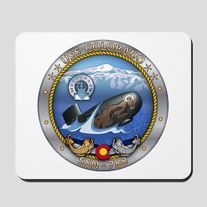 USS Colorado SSN-788 Mousepad