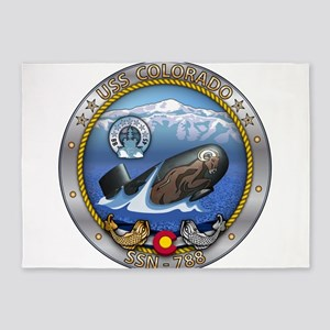 USS Colorado SSN-788 5'x7'Area Rug