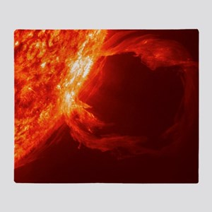 SOLAR FLARE 1 Throw Blanket