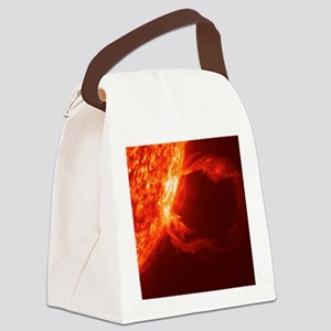 SOLAR FLARE 1 Canvas Lunch Bag