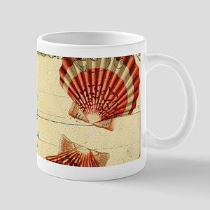 romantic seashells shabby chic Mugs
