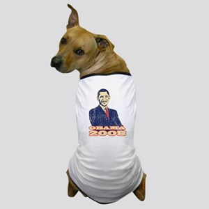 Barack Obama 2008 Dog T-Shirt