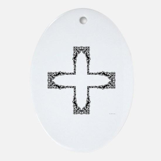 Unique Military valentine Oval Ornament