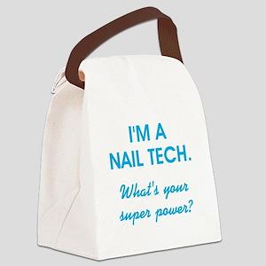 I'M A NAIL TECH Canvas Lunch Bag