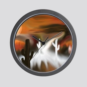 Southwest Fire and Ice Wall Clock