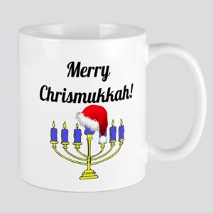 Merry Chrismukkah Menorah 11 oz Ceramic Mug