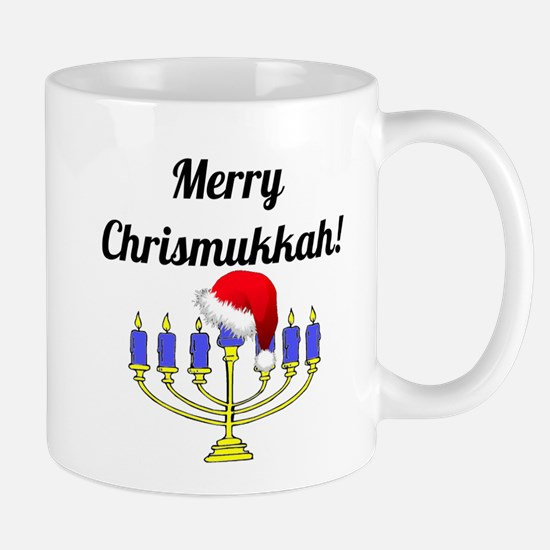 Merry Chrismukkah Menorah Mug