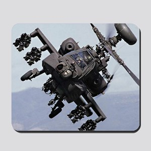 AH-64A/D, the Apache Attack Helicopter Mousepad