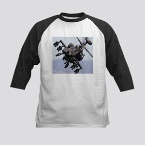 AH-64A/D, the Apache Attack Helico Baseball Jersey