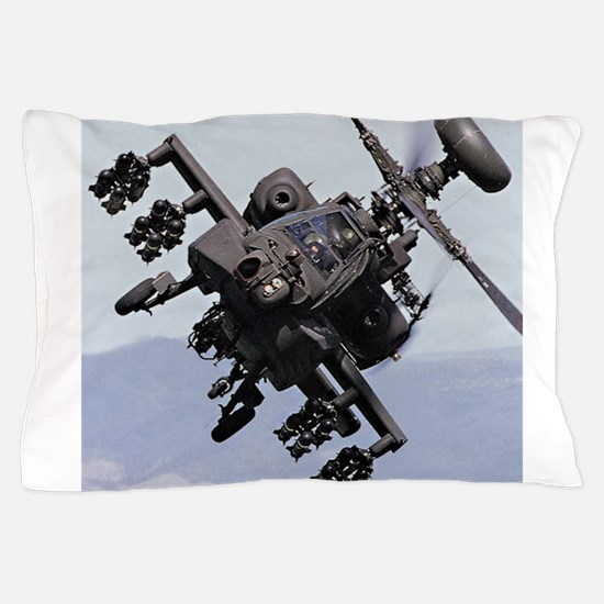 AH-64A/D, the Apache Attack Helicopter Pillow Case