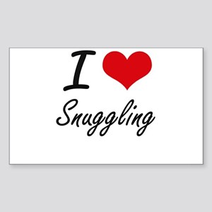 I love Snuggling Sticker