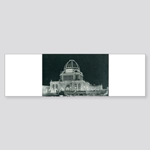 Columbian Exposition Administration Bumper Sticker