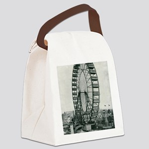 Columbian Exposition Ferris Wheel Canvas Lunch Bag