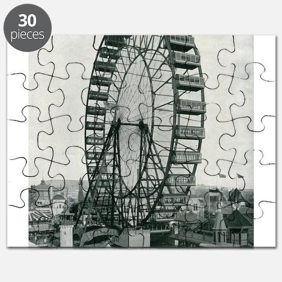 Columbian Exposition Ferris Wheel Puzzle