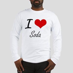 I love Soda Long Sleeve T-Shirt