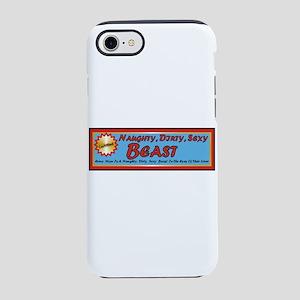 Naughty Beast iPhone 8/7 Tough Case