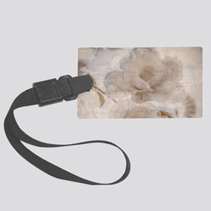 A Letter From Yesterday Large Luggage Tag