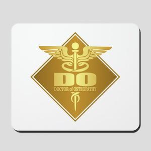 DO gold diamond Mousepad