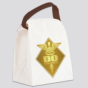 DO gold diamond Canvas Lunch Bag