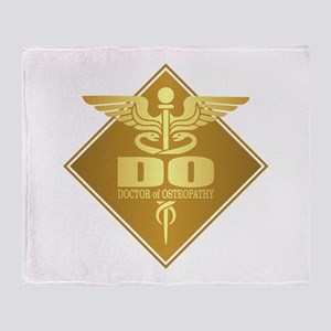DO gold diamond Throw Blanket