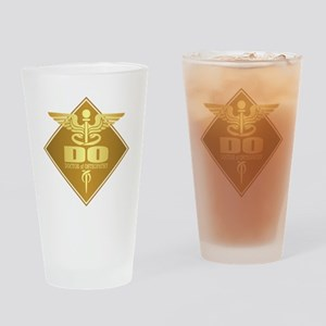 DO gold diamond Drinking Glass