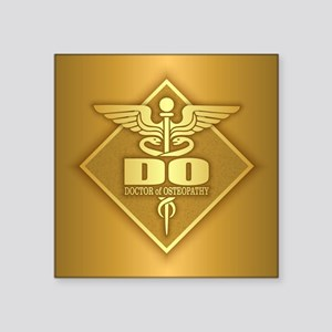 DO gold diamond Sticker