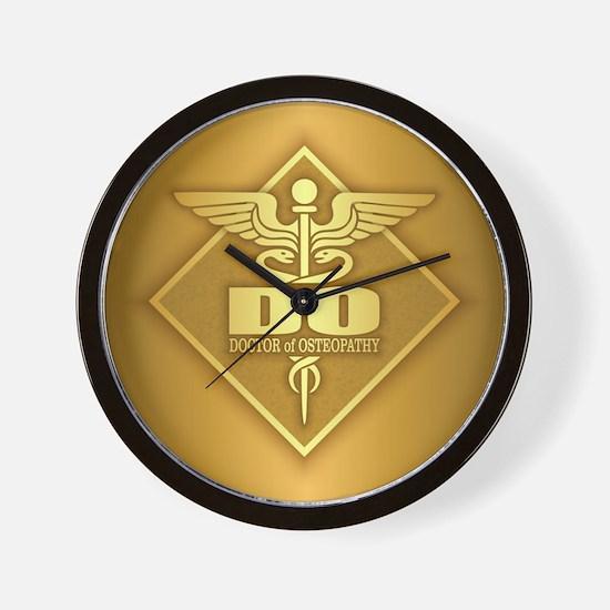 DO gold diamond Wall Clock