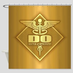 DO gold diamond Shower Curtain