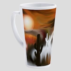 Southwest Fire and Ice 17 oz Latte Mug