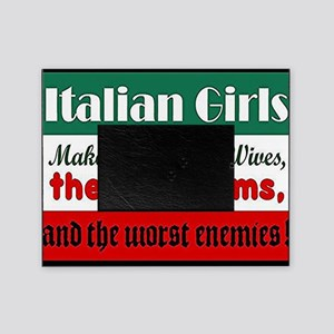 Italian Girls Picture Frame