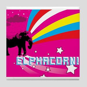 elphacorn Tile Coaster