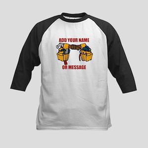 PERSONALIZED Tool Belt Graphic Baseball Jersey