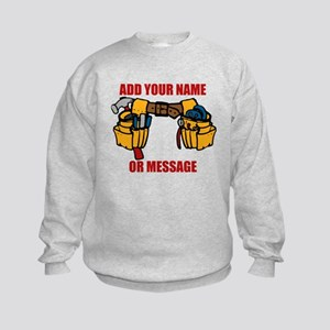 PERSONALIZED Tool Belt Graphic Sweatshirt