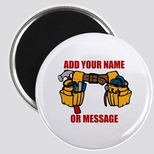 PERSONALIZED Tool Belt Graphic Magnet