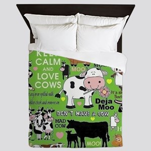 Cows Queen Duvet