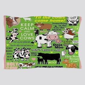 Cows Pillow Case