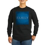Family Long Sleeve Dark T-Shirt