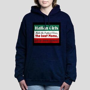 Italian Girls Women's Hooded Sweatshirt