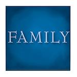 Family Tile Coaster