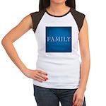 Family Junior's Cap Sleeve T-Shirt