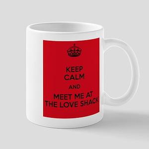 Meet me at the Love Shack Mugs