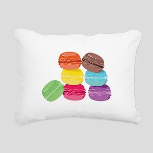 The Macaron Rectangular Canvas Pillow