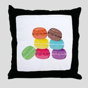 The Macaron Throw Pillow