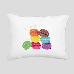 Macaron Delight Rectangular Canvas Pillow