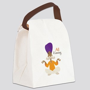 All Knowing Canvas Lunch Bag