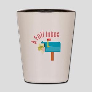 Full Inbox Shot Glass