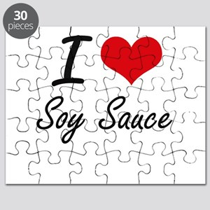 I love Soy Sauce Puzzle